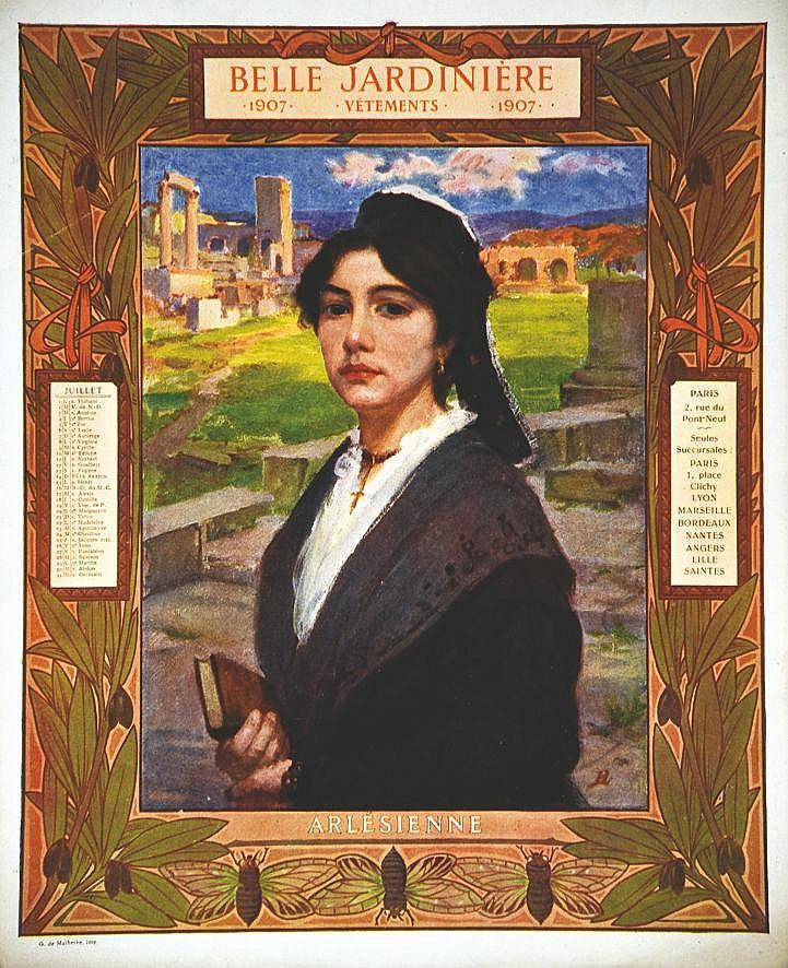 Arlésienne - La Belle Jardinière 1907