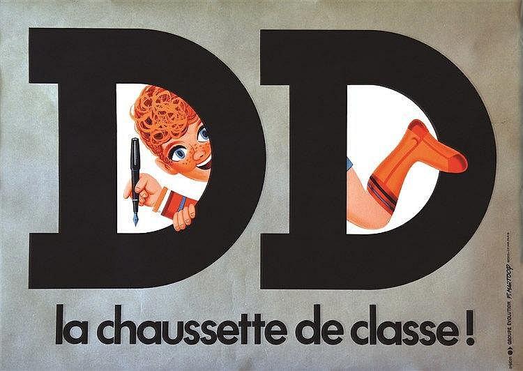 MARTOCQ FRANCIS  DD La Chaussette de Classe     vers 1950