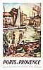 FRIESZ OTHON E.  Ports de Provence     1949, Othon Friesz, €200