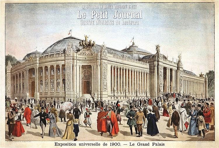 Le Grand Palais - Le Petit Journal Exposition Universelle 1900     1900
