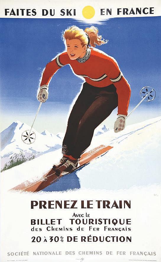 ABEL  Faites du Ski     1951