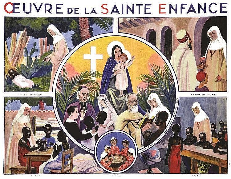 Œuvre de la Sainte Enfance vers 1930