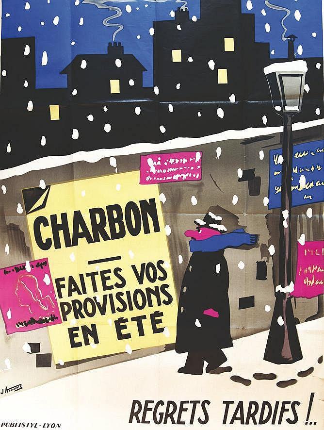 ARRIVETS J. Faites vos provisions d'été de - Charbon vers 1980