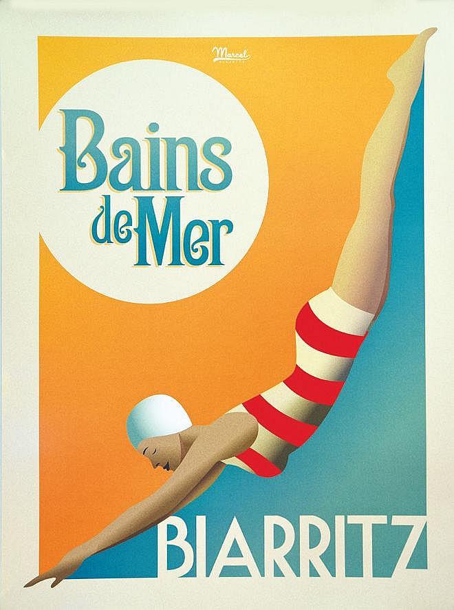 MARCEL Biarritz Bains de Mer vers 2010