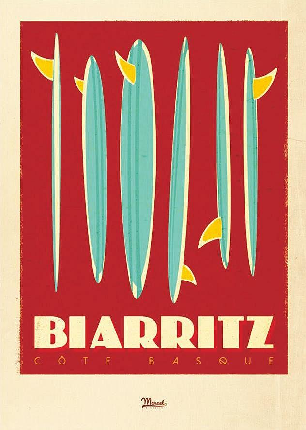 MARCEL Biarritz Côte Basque vers 2010