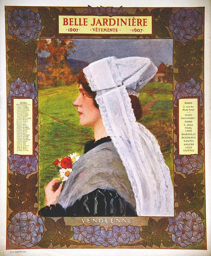 Vendéenne -  La Belle Jardinière     1907