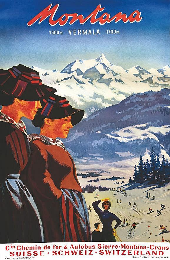 THO  Montana 1500 Vermala 1700m     1954