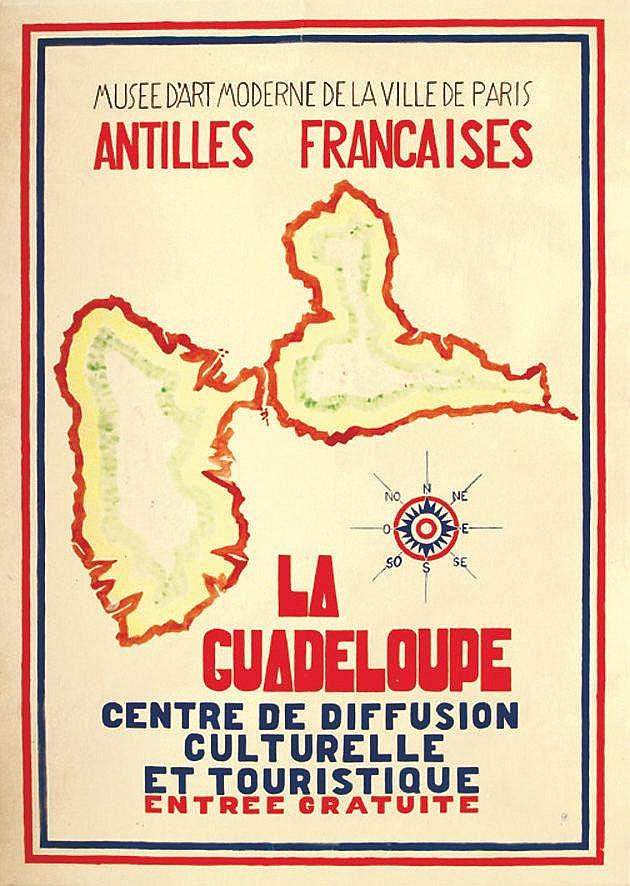 SURVAGE LEOPOLD Musée d'Art Moderne de la Ville de Paris - La Guadeloupe - Cachet de l'Atelier Survage vers 1930