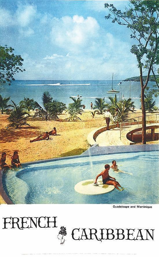 PHOTO : SERRAILLER  Guadeloupe & Martinique French Carabbean     1968