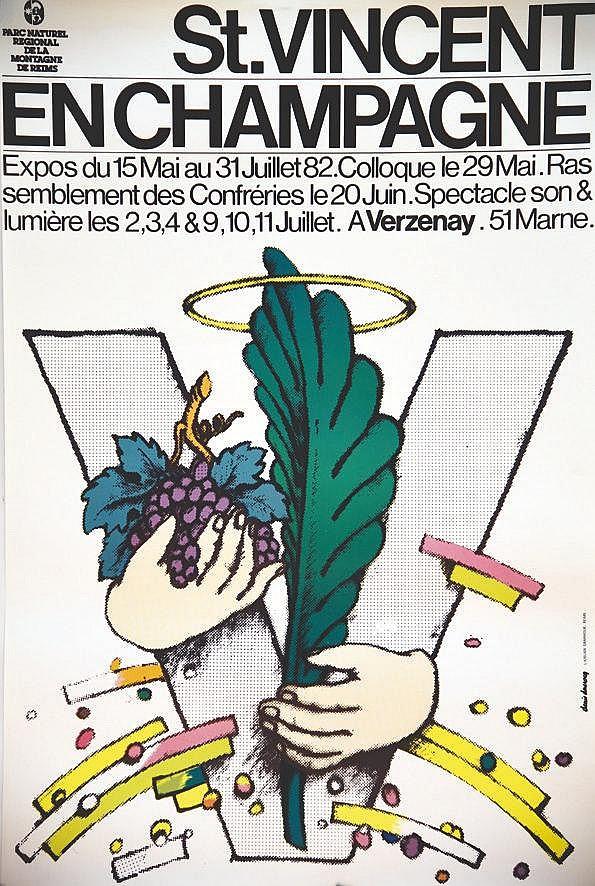 DUCROCQ DENIS  Saint Vincent en Champagne     1982