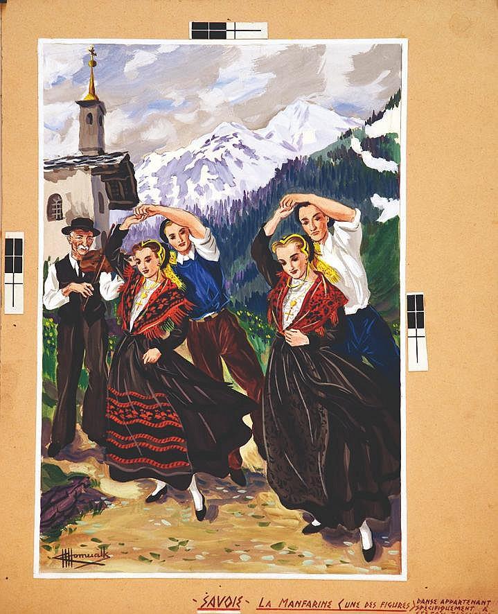 HOMUALK CHARLES  La Manfarine Savie     vers 1930