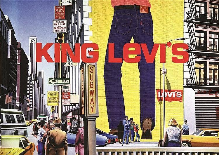 King Levi's     vers 1970