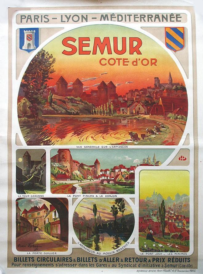 POLART HENRI  Semur en Auxois PLM     vers 1920