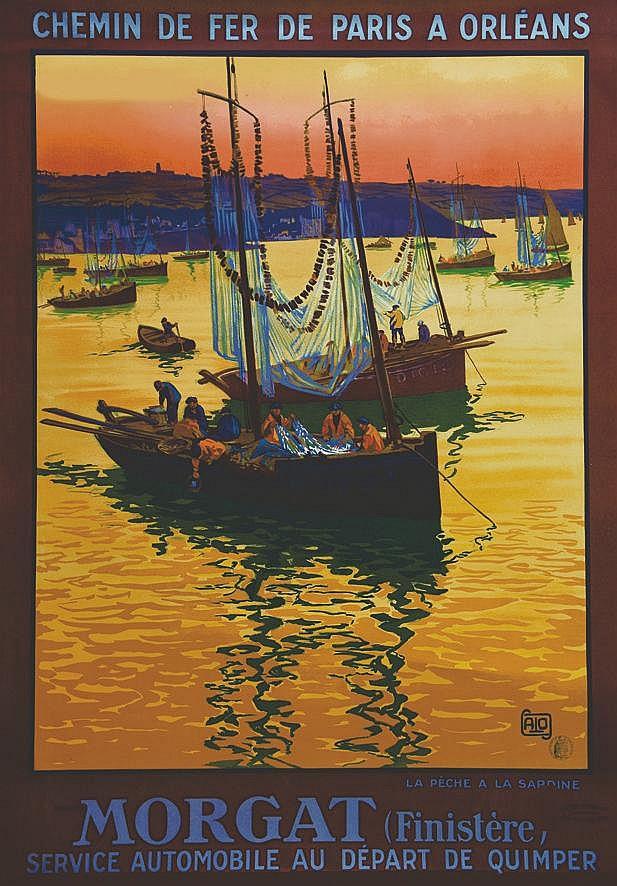 ALO Morgat - La Pêche à la Sardine 1928 1928