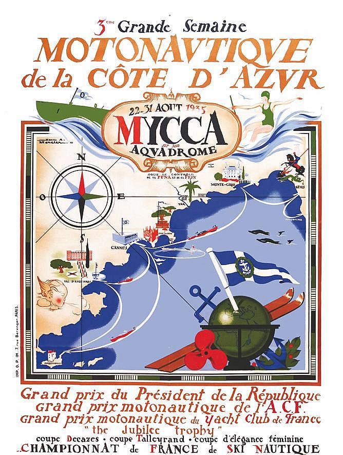 MERCIER JEAN ADRIEN MYCCA de la Côte d'Azur 1935