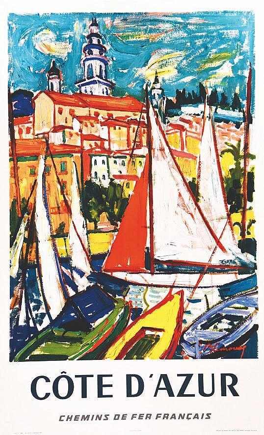 LIMOUSQ R.  Côte d'Azur     1960