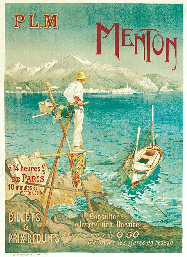 LESSIEUX Menton PLM vers 1920