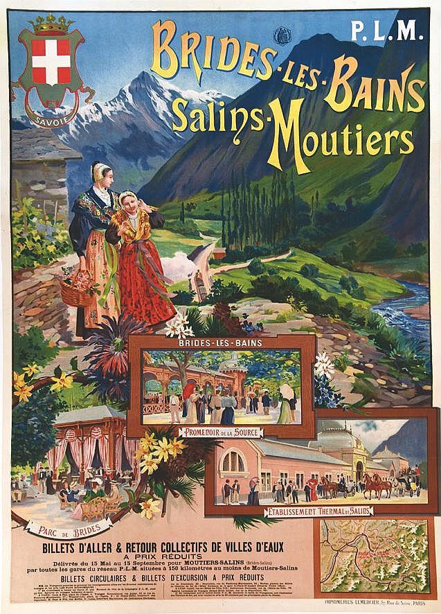 Brides Les Bains  - Salins les Bains     vers 1900