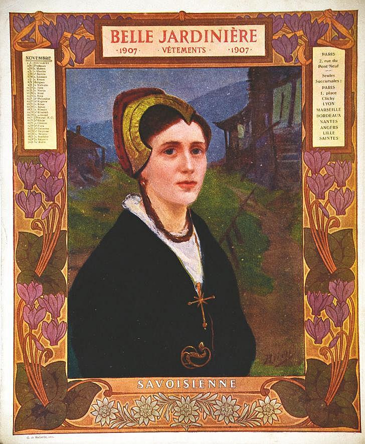 Savoisienne -  La Belle Jardinière     1907