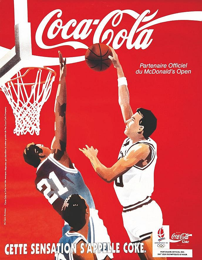Albertville 1992 - Cette sensation s'appelle Coke 1992