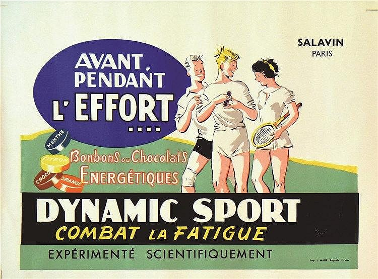 Dynamic Sport Combat la Fatigue vers 1950