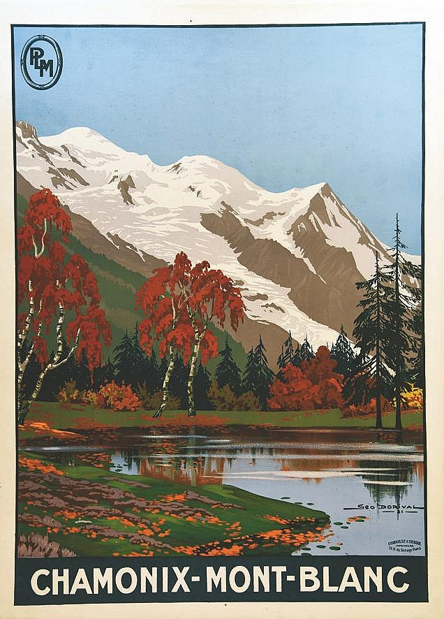 DORIVAL GEO  Chamonix - Mont - Blanc     1921