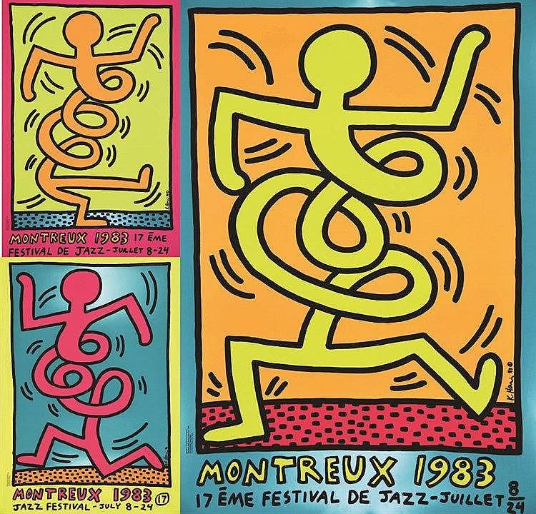 Lot du 3 Aff: Montreux 1983 1983