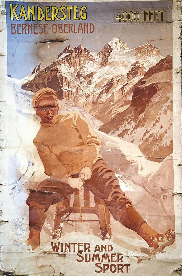 Kandersteg Bernese Oberland     vers 1900