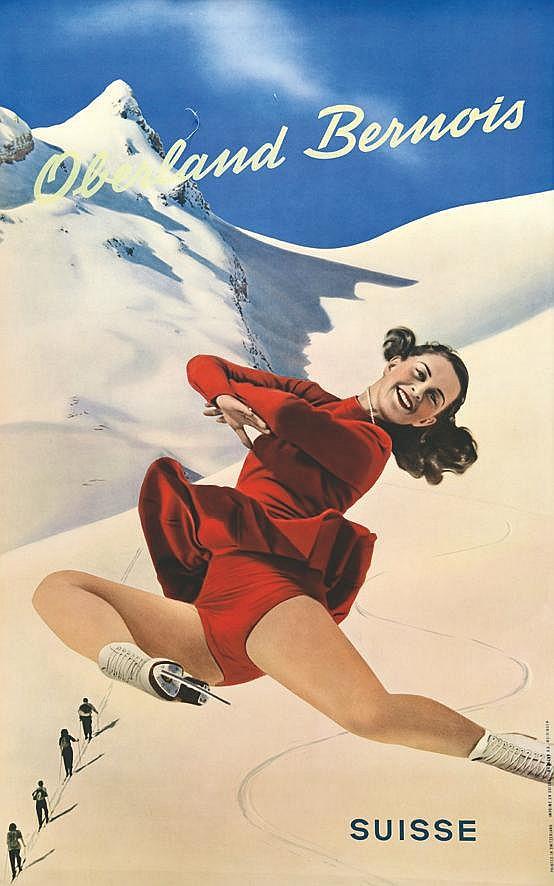 Oberland Bernois vers 1950