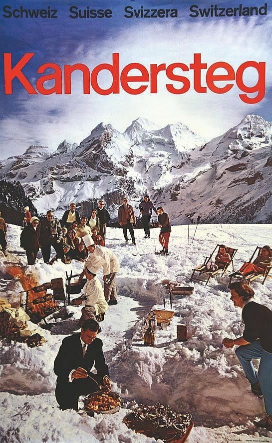 Kandersteg     vers 1960