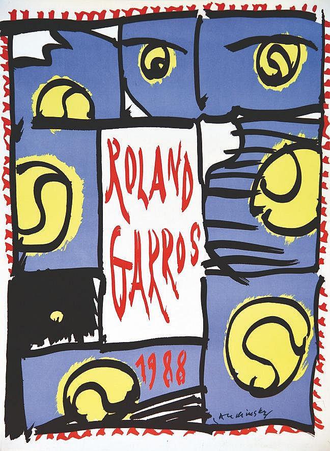 ALECHINSKY PIERRE  Roland Garros 1988     1988