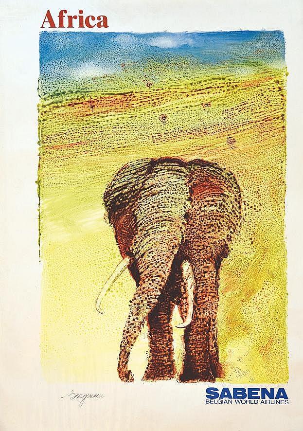 BERGMAN Africa Sabena 1988