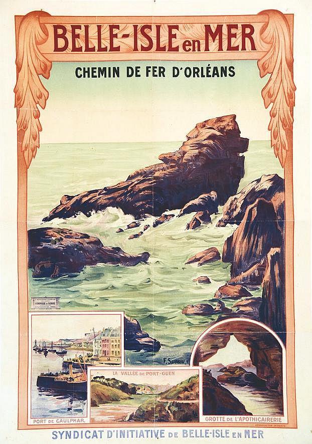 SERREAU F.  Belle Isle en Mer     vers 1900