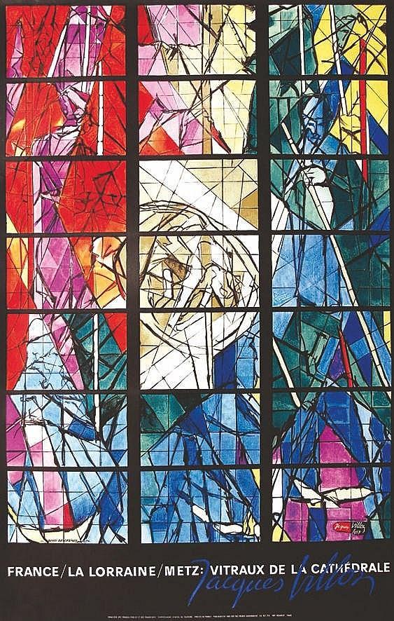 VILLON JACQUES  Metz: Vitraux de la Cathédrale     1957