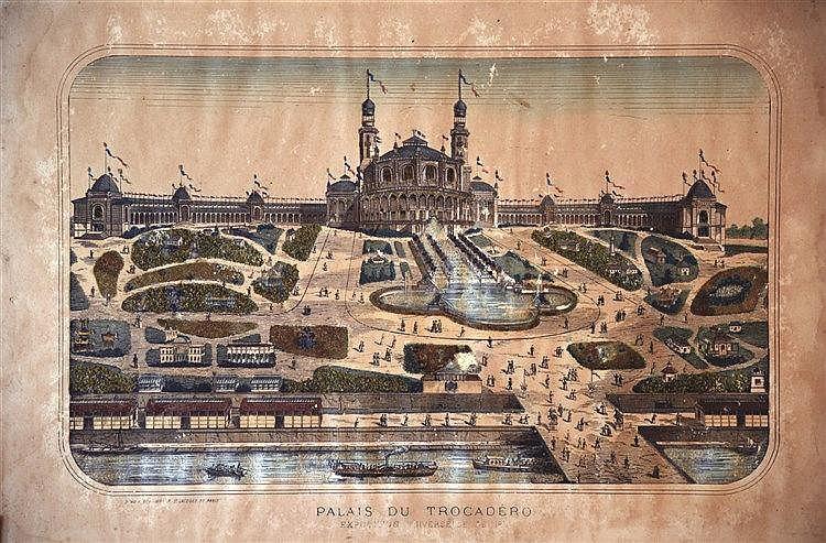 Palais du Trocadéro - Exposition Universelle Paris 1878 1878
