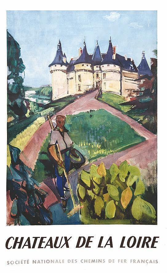 DESPIERRE  Châteaux de la Loire ( Château de Chambord )     1953