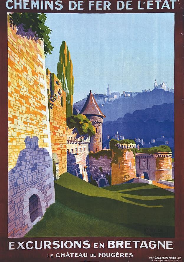 RENAVCOVAT Henry de Fougéres - Excursions en Britagne vers 1930