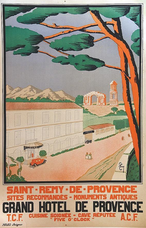 TONY Saint Rémy de Provence - Grand Hôtel de Provence vers 1930