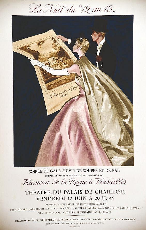 MAURGNE P. Château de Versailles - Hameau De La Reine Versailles -