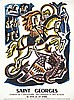 LE CHEVALLIER JACQUES  Saint Georges Patron des Soldats Scouts & de L'Angleterre 23 avril     vers 1930, Jacques Le Chevallier, €200