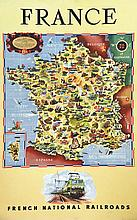 CHEVAL BATANY  France - French National Railroads     1951