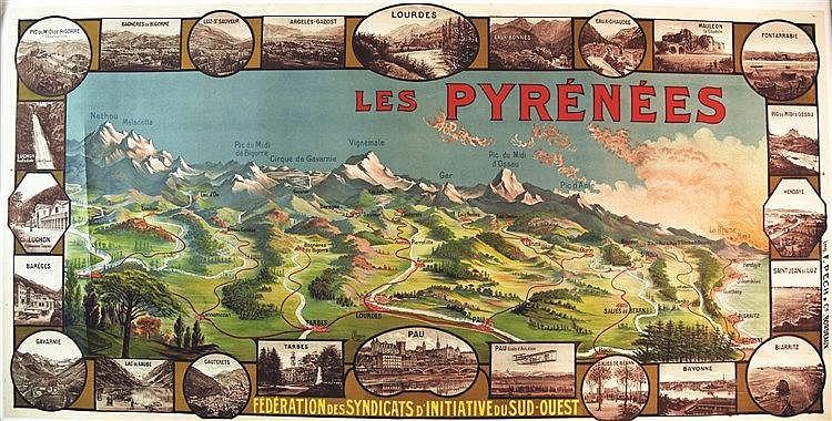 BOUDON  Les Pyrénées     vers 1920