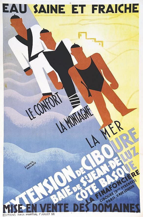 BERNARD FRANCIS  Extension de Ciboure     1928