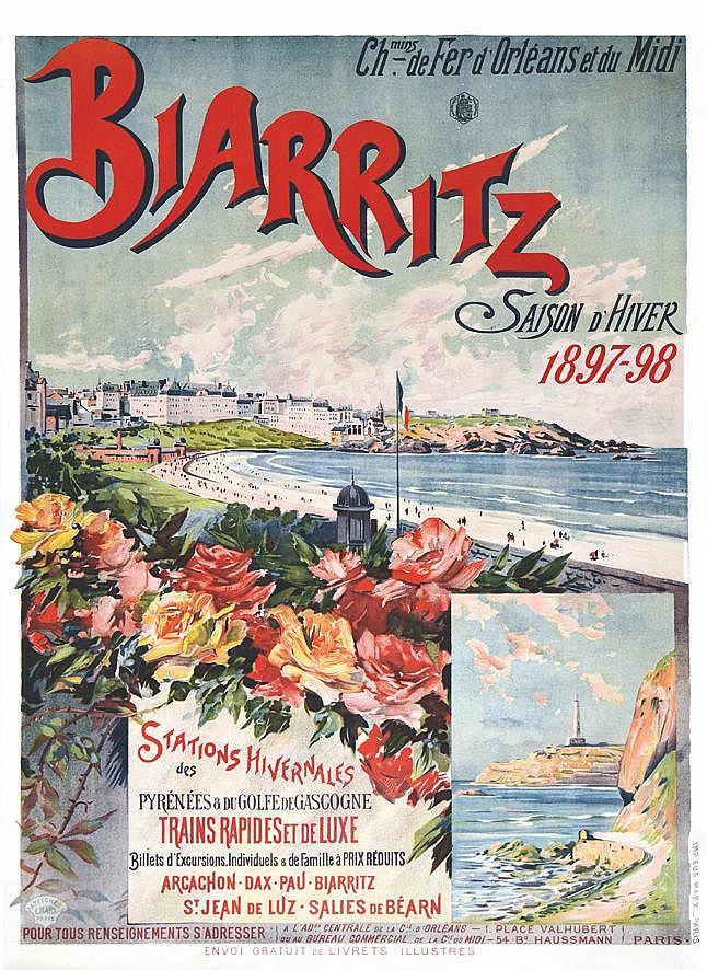 G. F. Biarritz vers 1900
