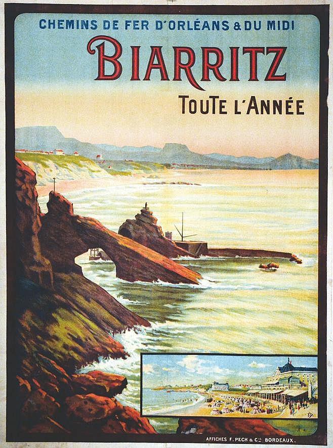 DUMOULIN F. Biarritz toute l'Année 1914 1914