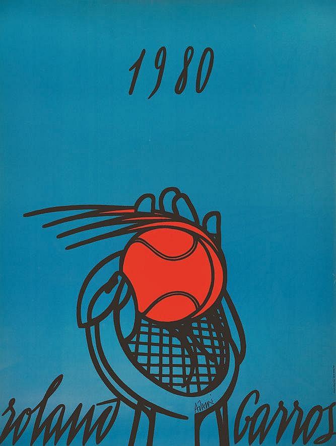 ADAMI VALERIO Roland Garros 1980 1980