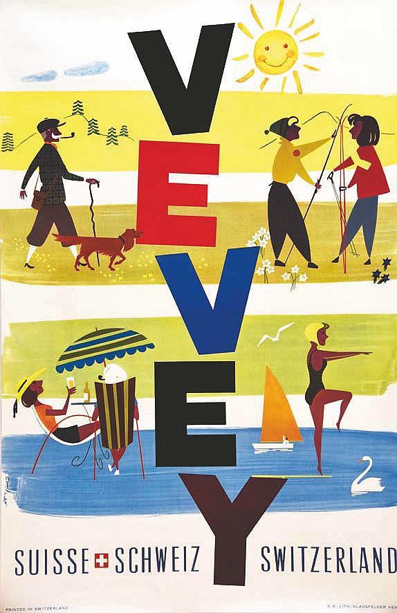 ARTIGAS Vevey - Suisse vers 1950