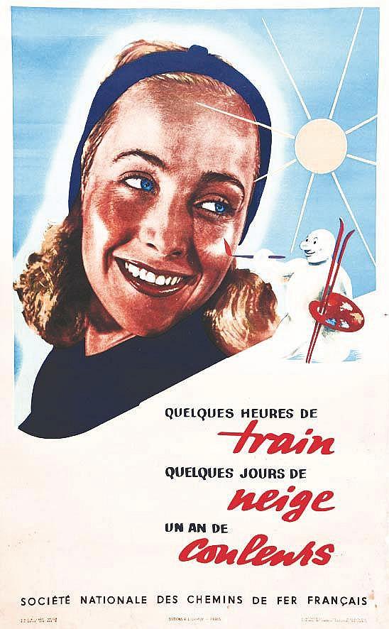 Quelques Heures de Train ~Quelquels Jours de Neige~ un an de Couleurs 1947