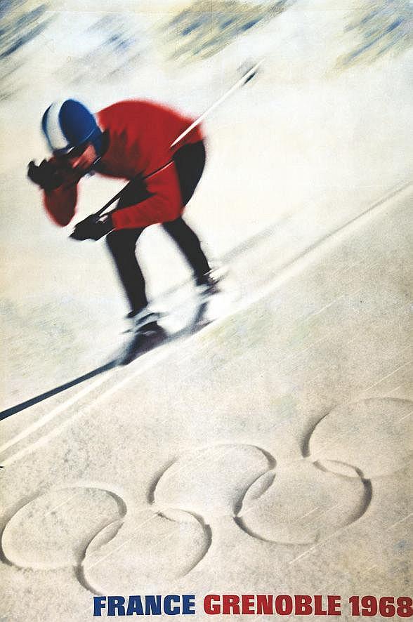 Ski - France Grenoble 1968 1968