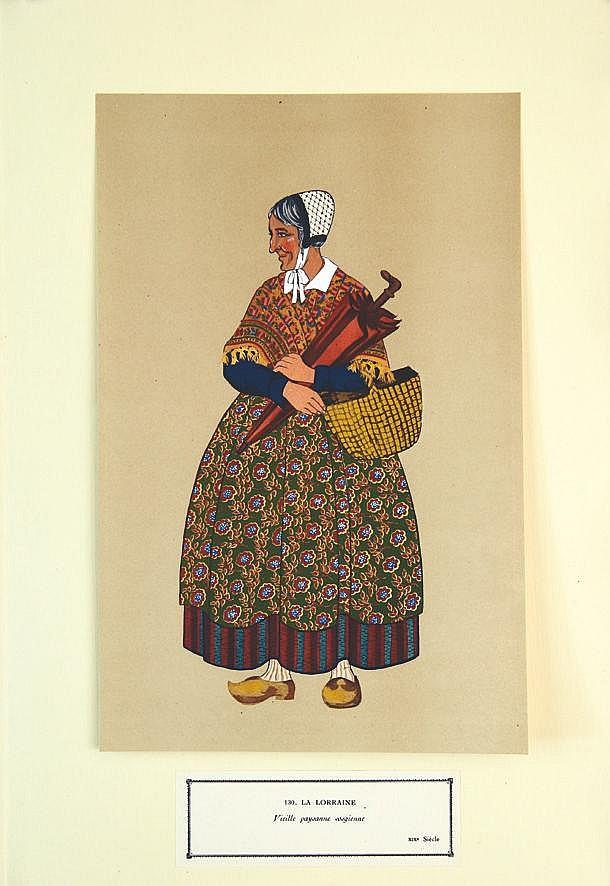 Vieille Paysanne Vosgienne vers 1900